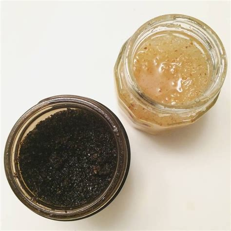 Just mix 1/2 cup coffee grounds and 1/2 cup sugar (any kind) with 1/4 cup coconut oil in a small jar with a lid. Coffee Scrub used coffee grounds from enemas coconut oil Citrus Scrub ground lemon/lime/orange ...