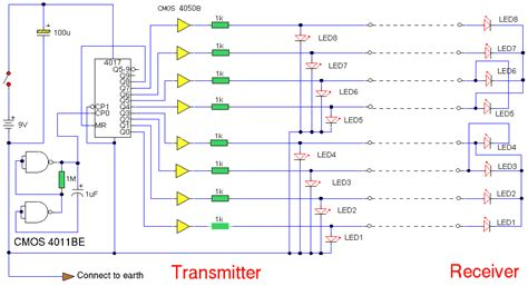 build multi wire cable tester circuit diagram
