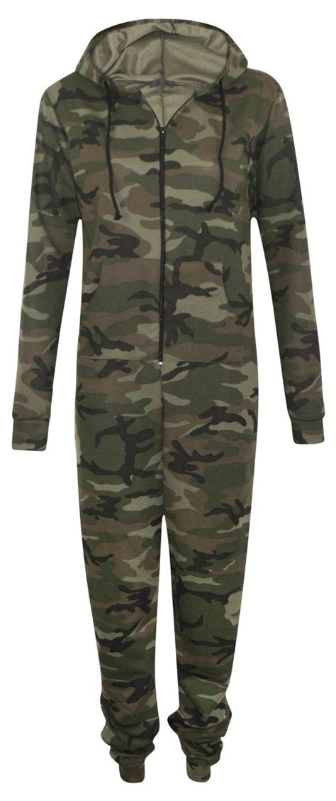 womens zip up hooded camouflage army rihanna all in
