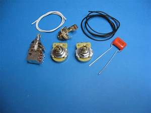 Am Guitar Works Jazz J Bass Wiring Kit With Series Parallel