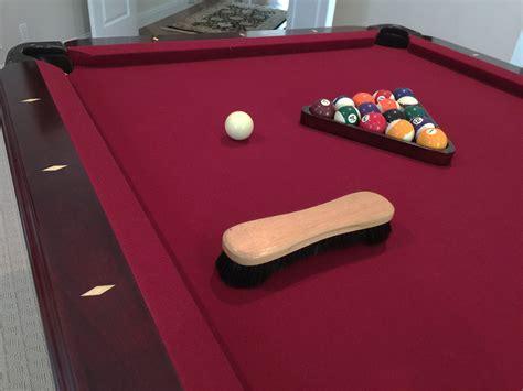 how to felt a pool table clean and brush pool table felt homezada