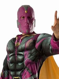 Vision, Deluxe, Costume, For, Adults, -, Marvel, Avengers