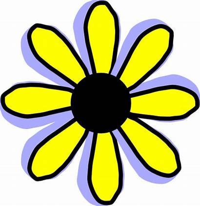 Flower Yellow Clip Clipart April Flannel Flowers