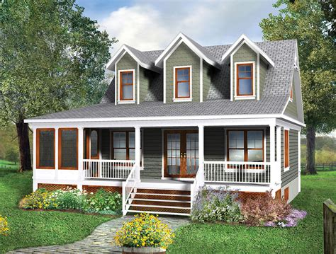 Cottage House by Two Story Cottage House Plan 80660pm Architectural