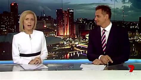 Aussie news presenter drops f-bomb live on TV | Newshub
