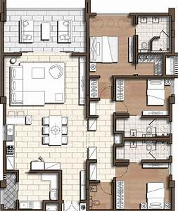 appartement 3 chambres 177m2 bagatelle les residences ile With photo de plan de maison 1 bardeaux de cadre