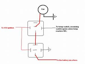 Wiring Up Thermo Fan Spdt Relay