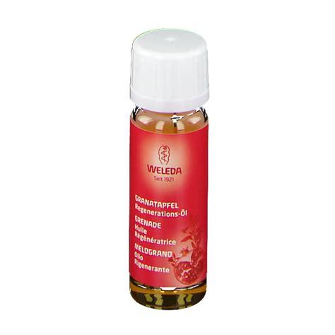 weleda granatapfel regenerations oel  ml shop apothekeat