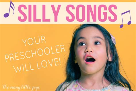 silly songs your preschooler will 725 | Silly Songs Your Preschooler Will Love