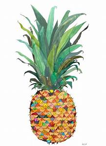 pineapple drawing | Drawing | Pinterest