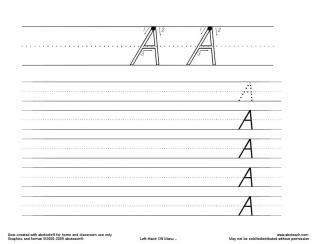 handwriting worksheets  create