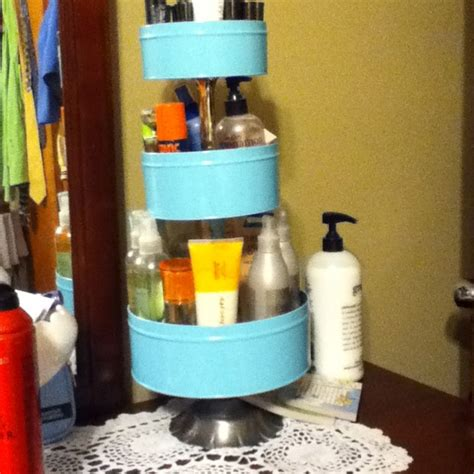 organize  lotion   cookie tins  cathy gough