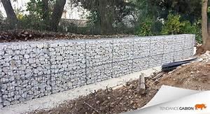 Mur En Gabion : photos de gabions tendance gabion le gabion pro pour tous ~ Premium-room.com Idées de Décoration