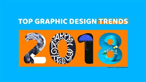 2018 Trends Something Borrowed And Plenty That Is New: Top Graphic Design Trends 2018