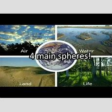 Earth's 4 Main Spheres  A Song Youtube