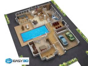 3d Plan Of House Photo by 3d Floor Plans For New Homes Architectural House Plan