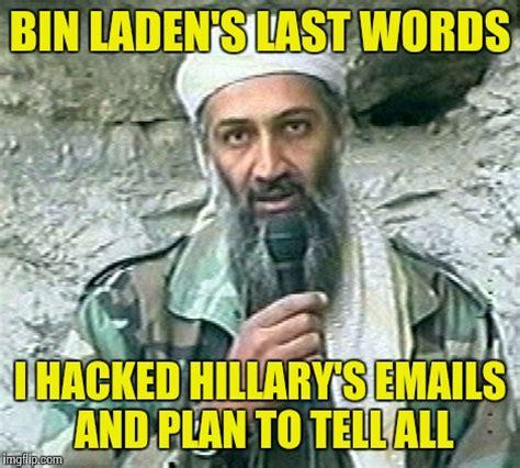 Bin Laden Meme - trump bin laden imgflip