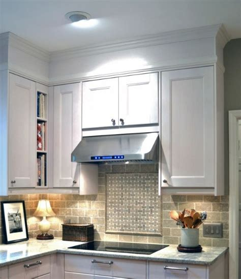 Decorating Ideas For Kitchen Bulkheads by Kitchen Bulkhead Decorating Ideas With Trims Molding