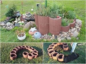 Kleinen Garten Gestalten : kleinen garten mit pflanzsteinen gestalten toom kreativwerkstatt kruterspirale aus pflanzsteinen ~ Markanthonyermac.com Haus und Dekorationen