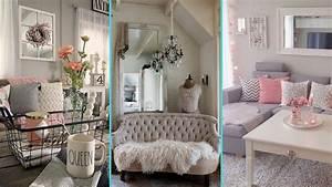 Chic Home Living : diy shabby chic style small apartment decor ideas home ~ Watch28wear.com Haus und Dekorationen