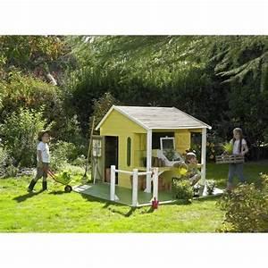Jeux En Bois Extérieur : maison jeux ext rieur cerland maisonnette bois pour enfant ~ Premium-room.com Idées de Décoration