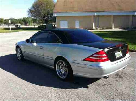Buy Used 2001 Mercedes Benz Cl500 Immaculate In Tampa