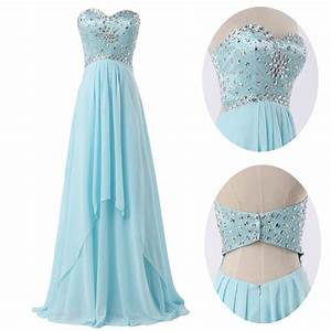 long formal bridesmaid beaded ball gown prom wedding With prom and wedding dresses