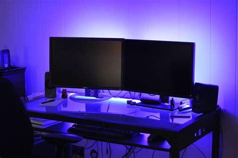 Led Light Room Setup by Details About Led Gaming Desk Lights New 2016