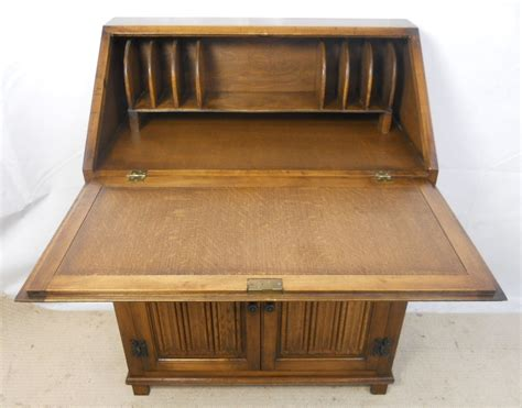 oak writing bureau furniture light oak writing bureau desk by charm sold