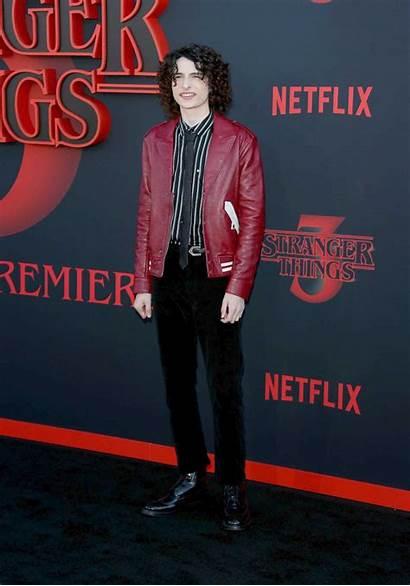 Stranger Finn Wolfhard Premiere Season Monica Attends
