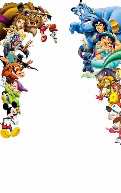 Disney Characters Shocked Transparent Deviantart Google Frame