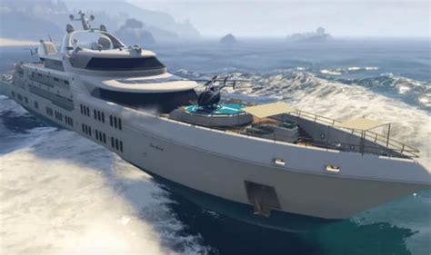Gta 5 Big Boat by Gta 5 Dlc Yacht Details Revealed