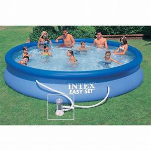 intex easy set piscine ronde autoportante 457 x 084 m With dessin de maison facile 6 piscine ronde 45 m
