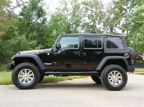jeep soft top 4 door sell used 2010 jeep rubicon 4x4 unlimited 4 door soft top