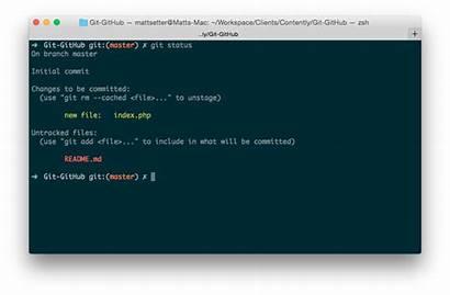 Git Configuration Updating