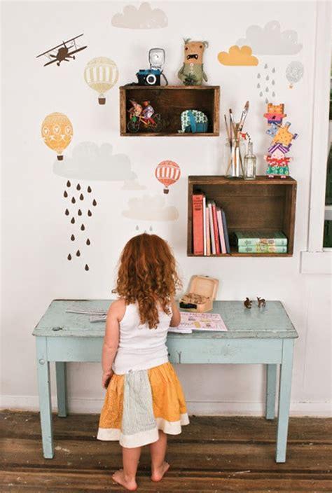 simple  modern kids desk ideas
