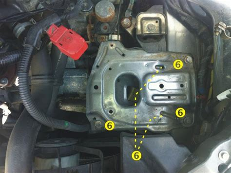 2006 Acura Tl Starter by Diy Starter Replacement Acurazine Acura Enthusiast