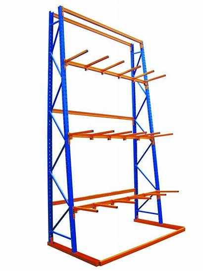 Vertical Cantilever Racking Storage Warehouse Extrusions Systems