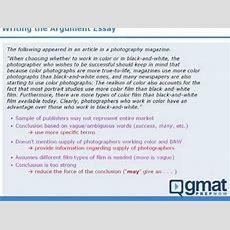 4  Gmat Prep  Writing The Awa Argument Essay Youtube