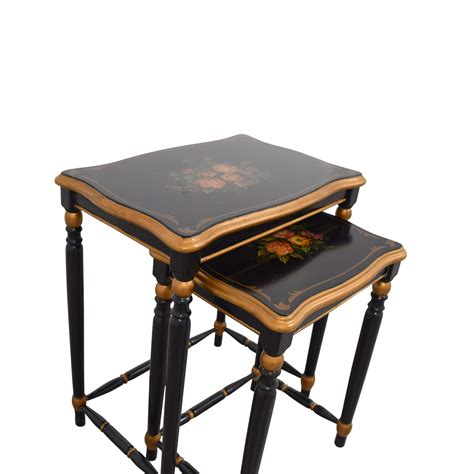 oriental accent oriental accent nesting tables