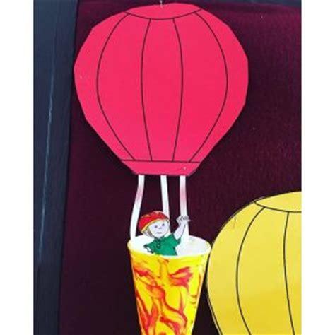 hot air balloon craft idea  kids crafts