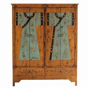 Penderie Maison Du Monde : armoire imprim e en bois l 150 cm kimono maisons du monde ~ Teatrodelosmanantiales.com Idées de Décoration