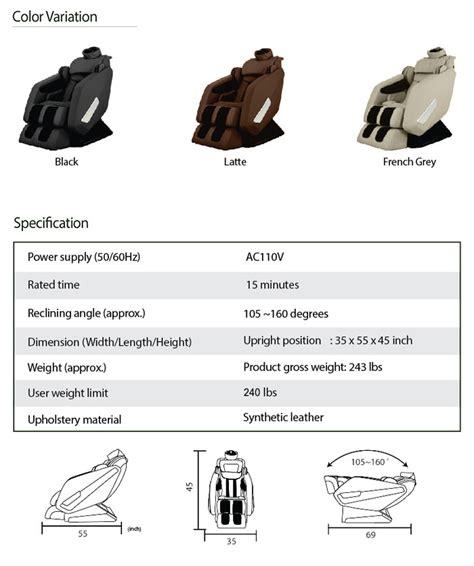 fujita smk92 chair fujita smk9600 chair massagezons