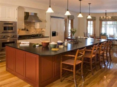 kitchen island table design ideas 17 best images about kitchen islands on