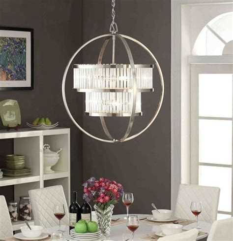 11 brushed nickel dining room light fixtures amazing ideas