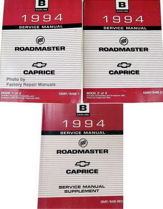 car service manuals pdf 1994 chevrolet caprice user handbook 1994 buick roadmaster chevy caprice impala ss factory shop service manual set factory repair