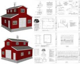 diy monitor pole barn kits plans free