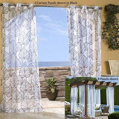 Grommet Curtains Sheer Curtain Panels Outdoor Unique