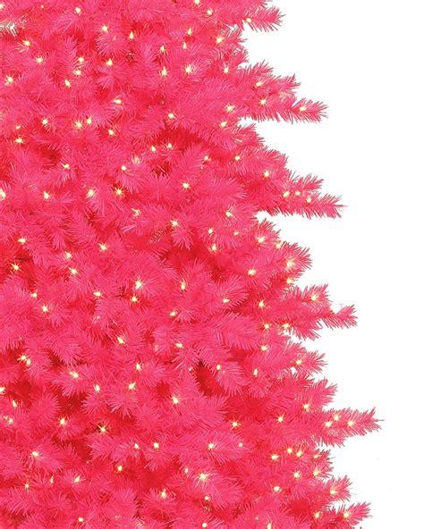 some like it hot pink christmas tree treetopia