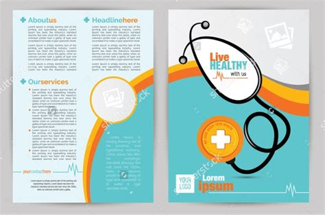 medical brochure designs psd  design trends